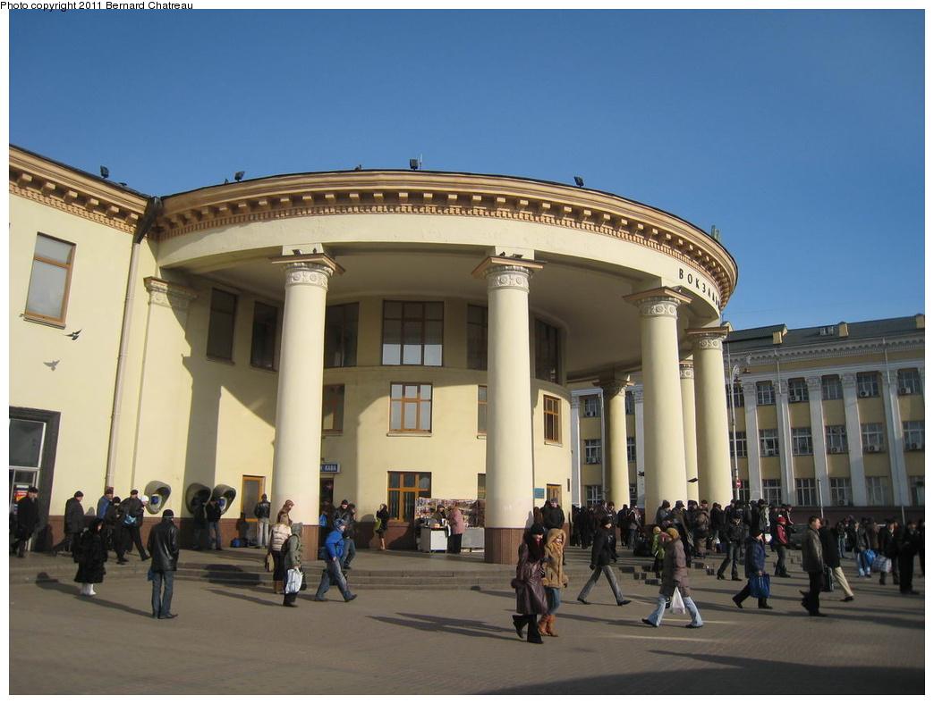 (256k, 1044x788)<br><b>Country:</b> Ukraine<br><b>City:</b> Kiev<br><b>System:</b> Kiev Metro - Київський метрополітен<br><b>Line:</b> Sviatoshynsko-Brovarska (Red/1) - Святошинсько-Броварська <br><b>Location:</b> Vokzalna - Вокзальна <br><b>Photo by:</b> Bernard Chatreau<br><b>Date:</b> 2/22/2007<br><b>Viewed (this week/total):</b> 0 / 225