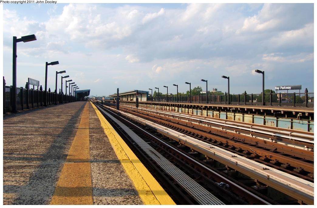 (334k, 1044x687)<br><b>Country:</b> United States<br><b>City:</b> New York<br><b>System:</b> New York City Transit<br><b>Line:</b> BMT Culver Line<br><b>Location:</b> Bay Parkway (22nd Avenue) <br><b>Photo by:</b> John Dooley<br><b>Date:</b> 7/26/2011<br><b>Viewed (this week/total):</b> 1 / 553