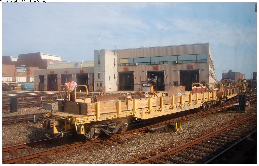 (294k, 1044x671)<br><b>Country:</b> United States<br><b>City:</b> New York<br><b>System:</b> New York City Transit<br><b>Location:</b> Coney Island Yard<br><b>Route:</b> Work Service<br><b>Car:</b> Flat Car 624 <br><b>Photo by:</b> John Dooley<br><b>Date:</b> 7/23/2011<br><b>Viewed (this week/total):</b> 0 / 688