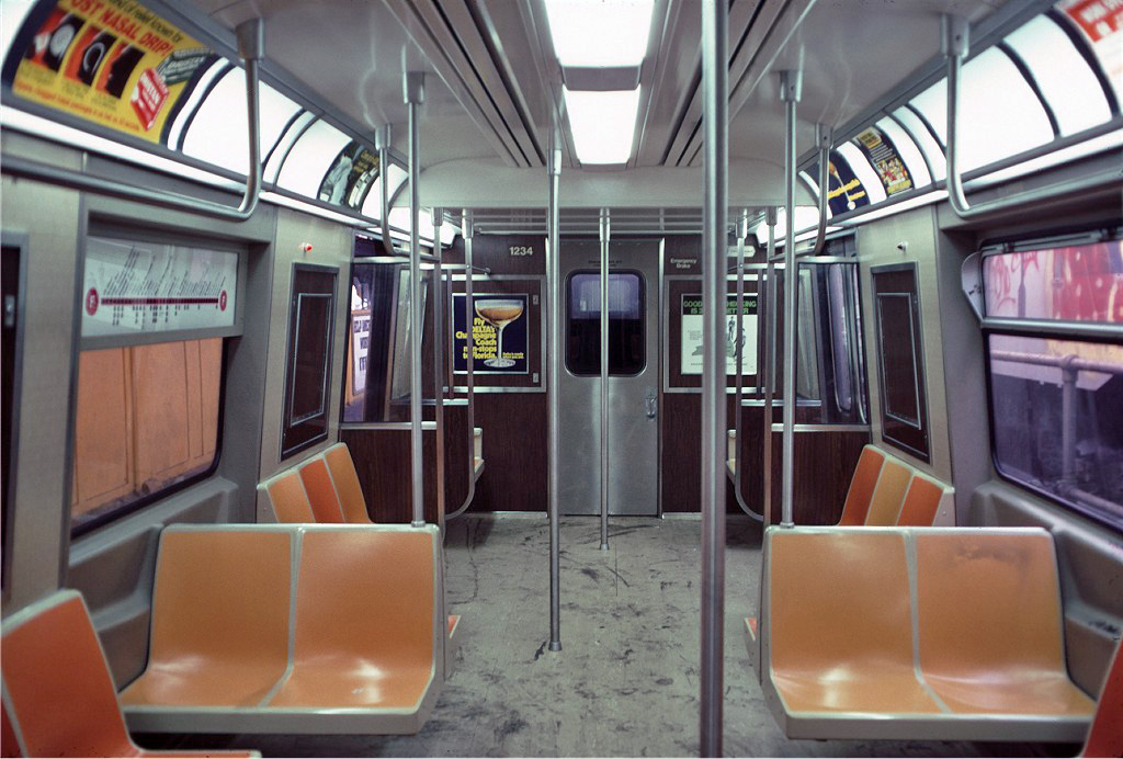 (253k, 1024x692)<br><b>Country:</b> United States<br><b>City:</b> New York<br><b>System:</b> New York City Transit<br><b>Location:</b> Coney Island/Stillwell Avenue<br><b>Route:</b> F<br><b>Car:</b> R-46 (Pullman-Standard, 1974-75) 1234 <br><b>Photo by:</b> Doug Grotjahn<br><b>Collection of:</b> Joe Testagrose<br><b>Date:</b> 6/1/1976<br><b>Viewed (this week/total):</b> 0 / 2068
