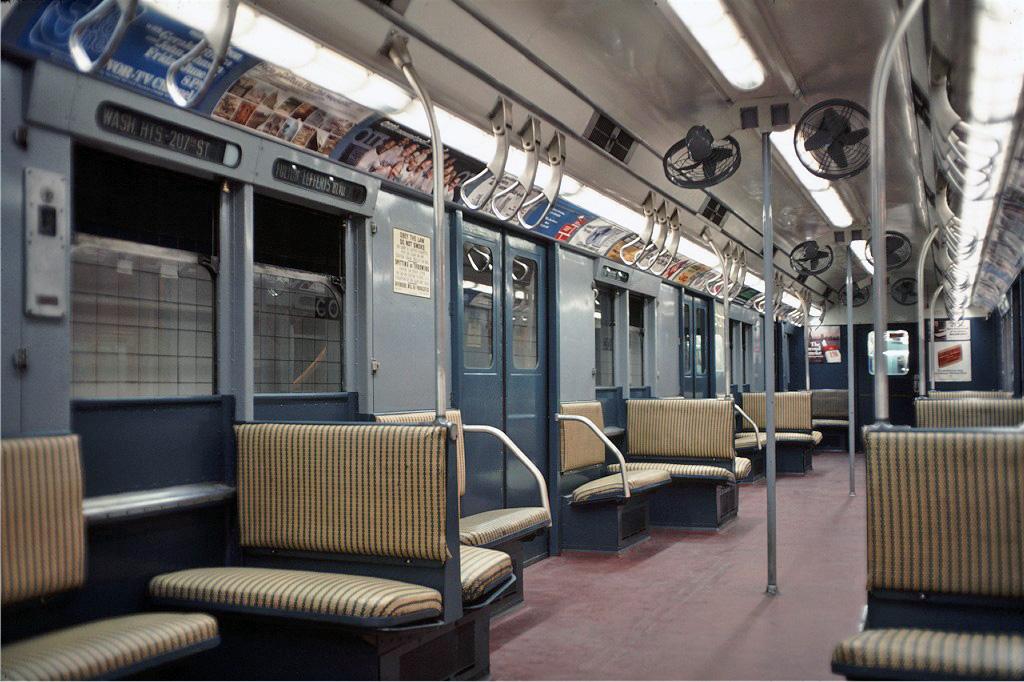 (266k, 1024x682)<br><b>Country:</b> United States<br><b>City:</b> New York<br><b>System:</b> New York City Transit<br><b>Location:</b> New York Transit Museum<br><b>Car:</b> R-7A (Pullman, 1938) 1575 <br><b>Photo by:</b> Doug Grotjahn<br><b>Collection of:</b> Joe Testagrose<br><b>Date:</b> 9/19/1976<br><b>Viewed (this week/total):</b> 0 / 2012