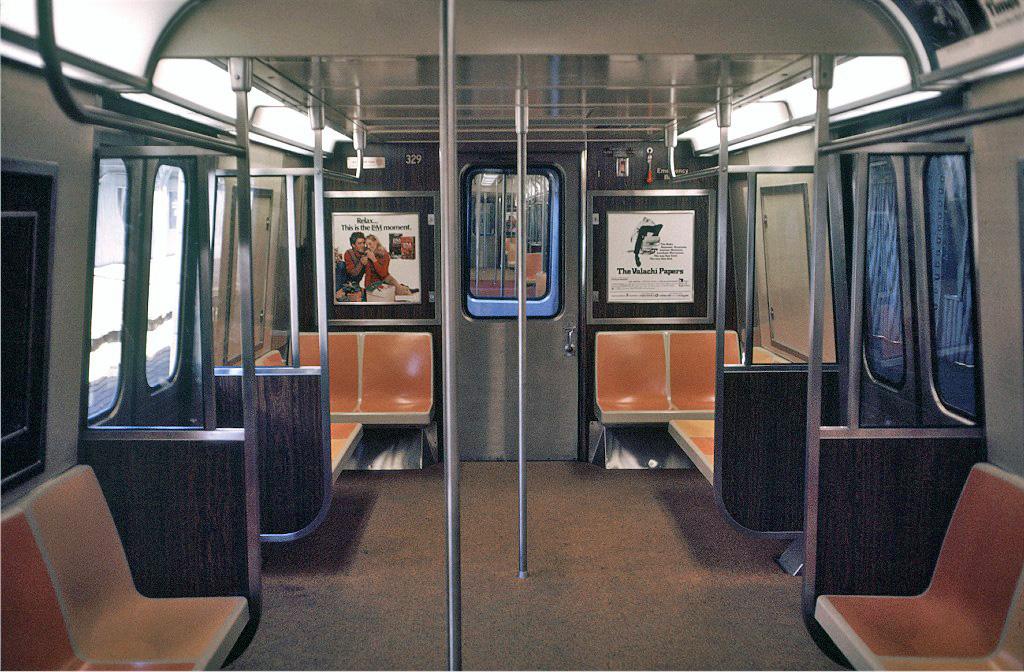 (311k, 1024x672)<br><b>Country:</b> United States<br><b>City:</b> New York<br><b>System:</b> New York City Transit<br><b>Location:</b> Coney Island/Stillwell Avenue<br><b>Route:</b> D<br><b>Car:</b> R-44 (St. Louis, 1971-73) 329 <br><b>Photo by:</b> Doug Grotjahn<br><b>Collection of:</b> Joe Testagrose<br><b>Date:</b> 11/29/1972<br><b>Viewed (this week/total):</b> 0 / 1302