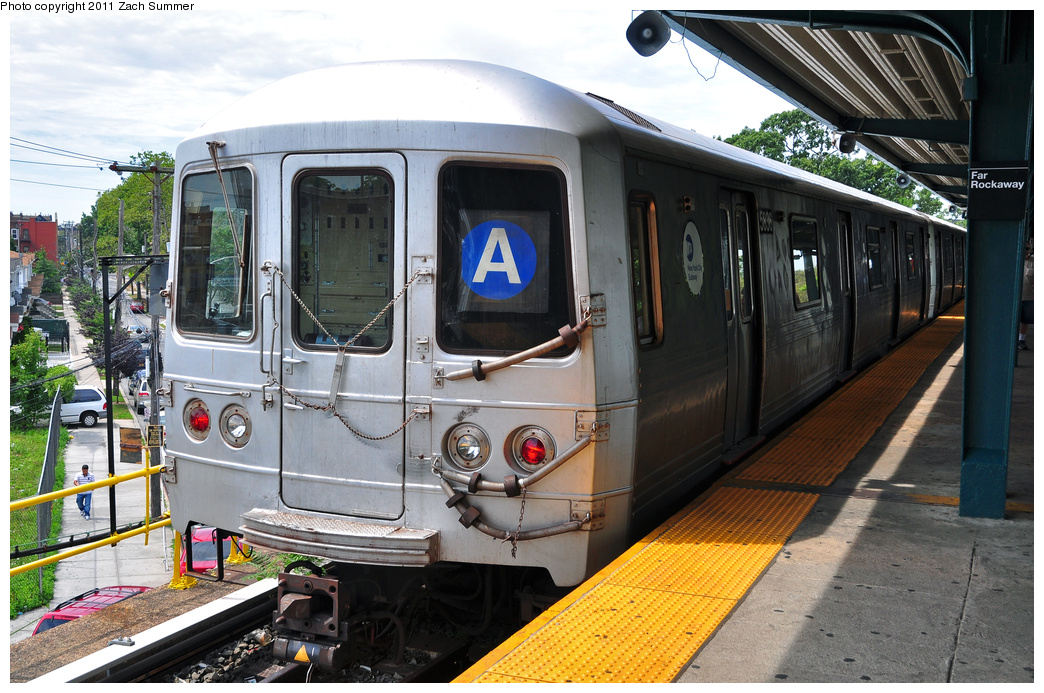 (414k, 1044x693)<br><b>Country:</b> United States<br><b>City:</b> New York<br><b>System:</b> New York City Transit<br><b>Line:</b> IND Rockaway<br><b>Location:</b> Mott Avenue/Far Rockaway <br><b>Route:</b> A<br><b>Car:</b> R-46 (Pullman-Standard, 1974-75) 5836 <br><b>Photo by:</b> Zach Summer<br><b>Date:</b> 7/28/2011<br><b>Viewed (this week/total):</b> 0 / 966