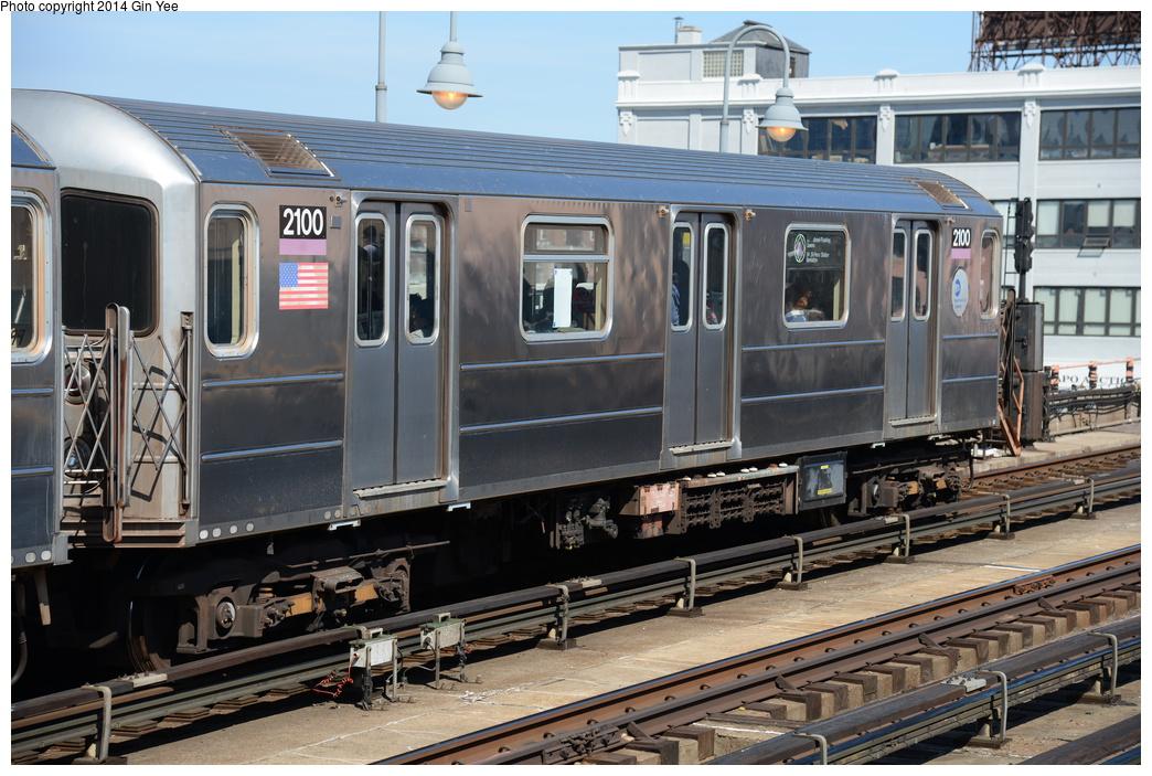 (381k, 1044x703)<br><b>Country:</b> United States<br><b>City:</b> New York<br><b>System:</b> New York City Transit<br><b>Line:</b> IRT Flushing Line<br><b>Location:</b> 33rd Street/Rawson Street <br><b>Route:</b> 7<br><b>Car:</b> R-62A (Bombardier, 1984-1987)  2010 <br><b>Photo by:</b> Gin Yee<br><b>Date:</b> 4/10/2014<br><b>Viewed (this week/total):</b> 0 / 637