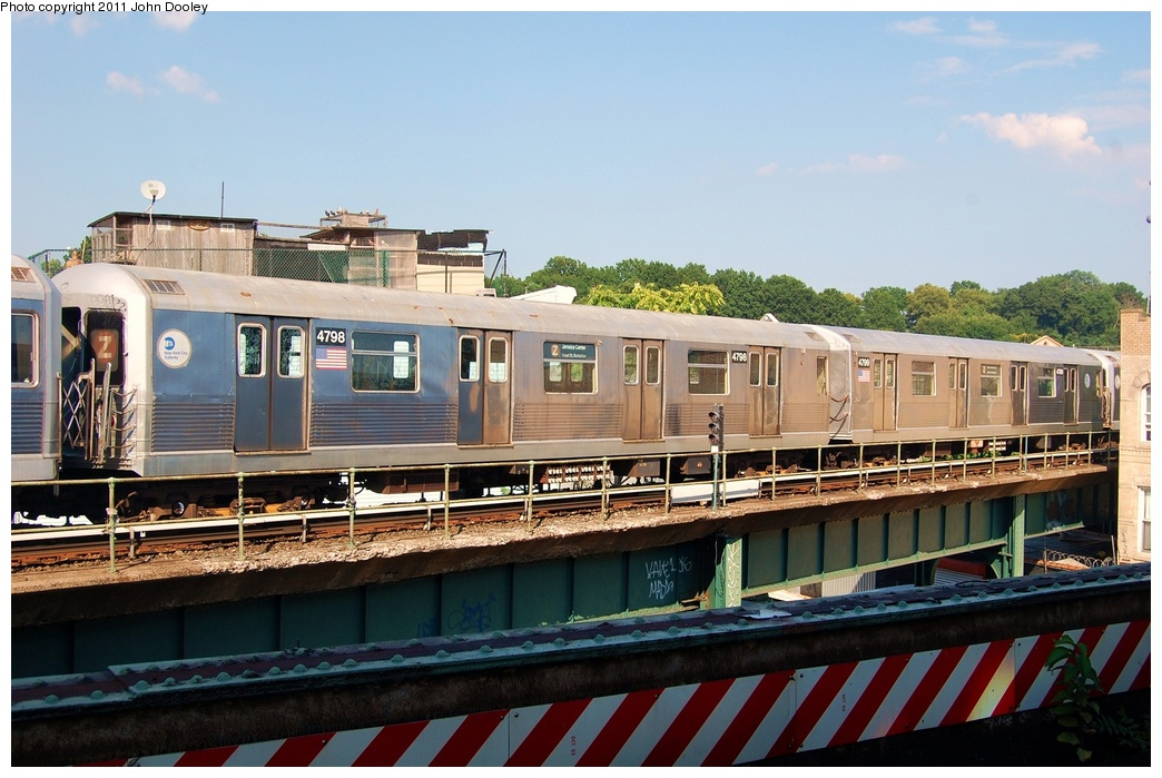 (317k, 1044x699)<br><b>Country:</b> United States<br><b>City:</b> New York<br><b>System:</b> New York City Transit<br><b>Location:</b> East New York Yard/Shops<br><b>Car:</b> R-42 (St. Louis, 1969-1970)  4798 <br><b>Photo by:</b> John Dooley<br><b>Date:</b> 8/17/2011<br><b>Viewed (this week/total):</b> 11 / 679