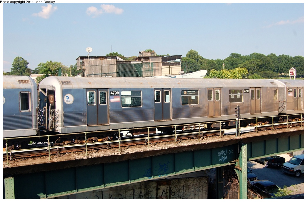 (330k, 1044x687)<br><b>Country:</b> United States<br><b>City:</b> New York<br><b>System:</b> New York City Transit<br><b>Location:</b> East New York Yard/Shops<br><b>Car:</b> R-42 (St. Louis, 1969-1970)  4798 <br><b>Photo by:</b> John Dooley<br><b>Date:</b> 8/17/2011<br><b>Viewed (this week/total):</b> 1 / 557