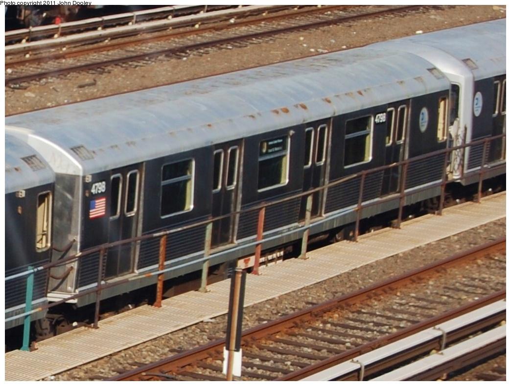 (310k, 1044x788)<br><b>Country:</b> United States<br><b>City:</b> New York<br><b>System:</b> New York City Transit<br><b>Location:</b> East New York Yard/Shops<br><b>Car:</b> R-42 (St. Louis, 1969-1970)  4798 <br><b>Photo by:</b> John Dooley<br><b>Date:</b> 6/29/2011<br><b>Viewed (this week/total):</b> 1 / 581