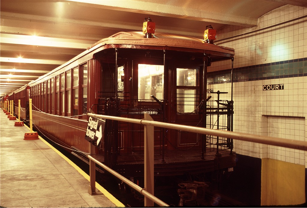 (199k, 1024x693)<br><b>Country:</b> United States<br><b>City:</b> New York<br><b>System:</b> New York City Transit<br><b>Location:</b> New York Transit Museum<br><b>Car:</b> BMT Elevated Gate Car 1404 <br><b>Photo by:</b> Doug Grotjahn<br><b>Collection of:</b> Joe Testagrose<br><b>Date:</b> 9/14/1979<br><b>Viewed (this week/total):</b> 0 / 1313