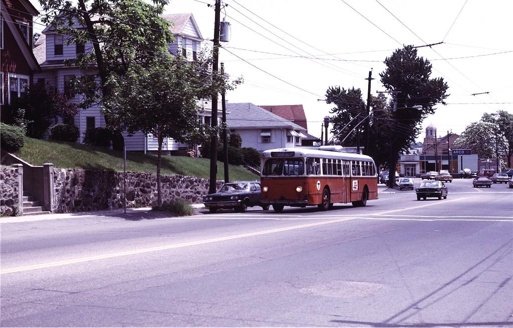 (236k, 1024x656)<br><b>Country:</b> United States<br><b>City:</b> Boston, MA<br><b>System:</b> MBTA Boston<br><b>Line:</b> MBTA Trolleybus (71,72,73)<br><b>Location:</b> Mt. Auburn St./Upland (71)<br><b>Car:</b> MBTA Trolleybus 8484 <br><b>Photo by:</b> Joe Testagrose<br><b>Date:</b> 7/6/1972<br><b>Viewed (this week/total):</b> 0 / 656