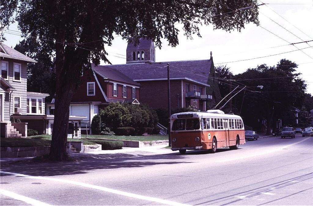 (247k, 1024x674)<br><b>Country:</b> United States<br><b>City:</b> Boston, MA<br><b>System:</b> MBTA Boston<br><b>Line:</b> MBTA Trolleybus (71,72,73)<br><b>Location:</b> Watertown Square (71)<br><b>Car:</b> MBTA Trolleybus 8491 <br><b>Photo by:</b> Joe Testagrose<br><b>Date:</b> 7/6/1972<br><b>Viewed (this week/total):</b> 1 / 630