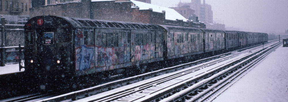 (70k, 1000x355)<br><b>Country:</b> United States<br><b>City:</b> New York<br><b>System:</b> New York City Transit<br><b>Line:</b> IRT West Side Line<br><b>Location:</b> 231st Street <br><b>Route:</b> 1<br><b>Car:</b> R-21 (St. Louis, 1956-57) 7244 <br><b>Photo by:</b> Robert Callahan<br><b>Date:</b> 2/2/1985<br><b>Viewed (this week/total):</b> 0 / 871