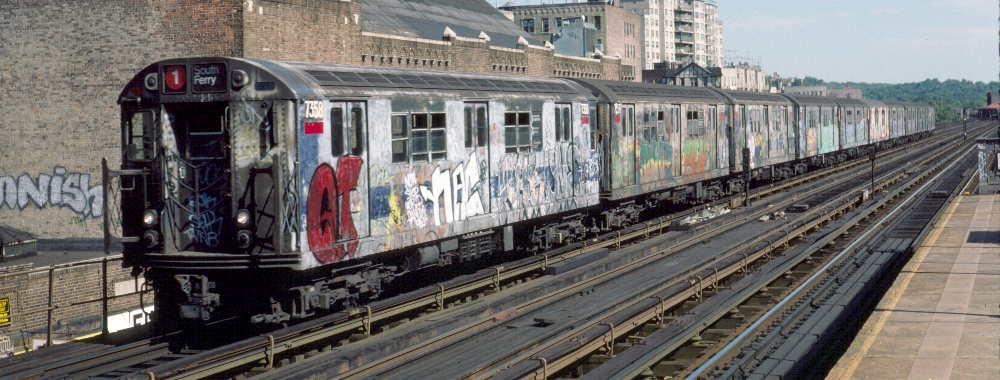 (65k, 1000x380)<br><b>Country:</b> United States<br><b>City:</b> New York<br><b>System:</b> New York City Transit<br><b>Line:</b> IRT West Side Line<br><b>Location:</b> 231st Street <br><b>Route:</b> 1<br><b>Car:</b> R-22 (St. Louis, 1957-58) 7358 <br><b>Photo by:</b> Robert Callahan<br><b>Date:</b> 9/22/1984<br><b>Viewed (this week/total):</b> 0 / 804