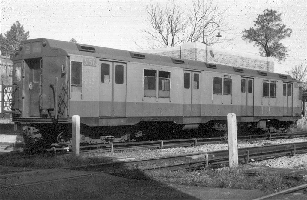 (244k, 1024x670)<br><b>Country:</b> United States<br><b>City:</b> New York<br><b>System:</b> New York City Transit<br><b>Location:</b> 207th Street Yard<br><b>Car:</b> R-10 (American Car & Foundry, 1948) 3156 <br><b>Collection of:</b> Joe Testagrose<br><b>Viewed (this week/total):</b> 1 / 983