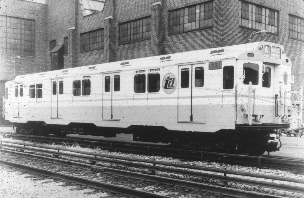 (219k, 1024x668)<br><b>Country:</b> United States<br><b>City:</b> New York<br><b>System:</b> New York City Transit<br><b>Location:</b> 207th Street Yard<br><b>Car:</b> R-10 (American Car & Foundry, 1948) 3331 <br><b>Collection of:</b> Joe Testagrose<br><b>Viewed (this week/total):</b> 0 / 1205