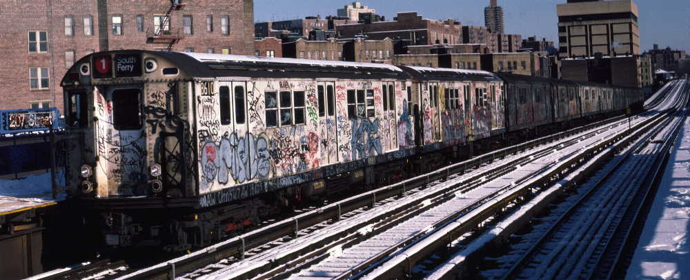 (71k, 1000x406)<br><b>Country:</b> United States<br><b>City:</b> New York<br><b>System:</b> New York City Transit<br><b>Line:</b> IRT West Side Line<br><b>Location:</b> 207th Street <br><b>Route:</b> 1<br><b>Car:</b> R-29 (St. Louis, 1962) 8610 <br><b>Photo by:</b> Robert Callahan<br><b>Date:</b> 2/3/1985<br><b>Viewed (this week/total):</b> 0 / 1041