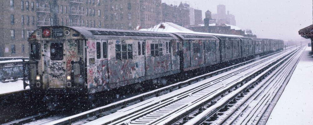 (69k, 1000x401)<br><b>Country:</b> United States<br><b>City:</b> New York<br><b>System:</b> New York City Transit<br><b>Line:</b> IRT West Side Line<br><b>Location:</b> 231st Street <br><b>Route:</b> 1<br><b>Car:</b> R-29 (St. Louis, 1962) 8684 <br><b>Photo by:</b> Robert Callahan<br><b>Date:</b> 2/2/1985<br><b>Viewed (this week/total):</b> 0 / 852