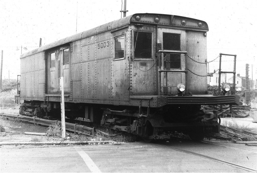 (204k, 1024x690)<br><b>Country:</b> United States<br><b>City:</b> New York<br><b>System:</b> New York City Transit<br><b>Location:</b> Coney Island Yard<br><b>Car:</b> BMT Signal Supply Car (Diff. Car Co., 1927)  5003 <br><b>Collection of:</b> Joe Testagrose<br><b>Viewed (this week/total):</b> 0 / 760