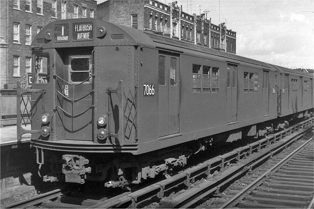 (257k, 1024x683)<br><b>Country:</b> United States<br><b>City:</b> New York<br><b>System:</b> New York City Transit<br><b>Line:</b> IRT West Side Line<br><b>Location:</b> Dyckman Street <br><b>Route:</b> 1<br><b>Car:</b> R-21 (St. Louis, 1956-57) 7066 <br><b>Collection of:</b> Joe Testagrose<br><b>Notes:</b> c.1958<br><b>Viewed (this week/total):</b> 1 / 1074