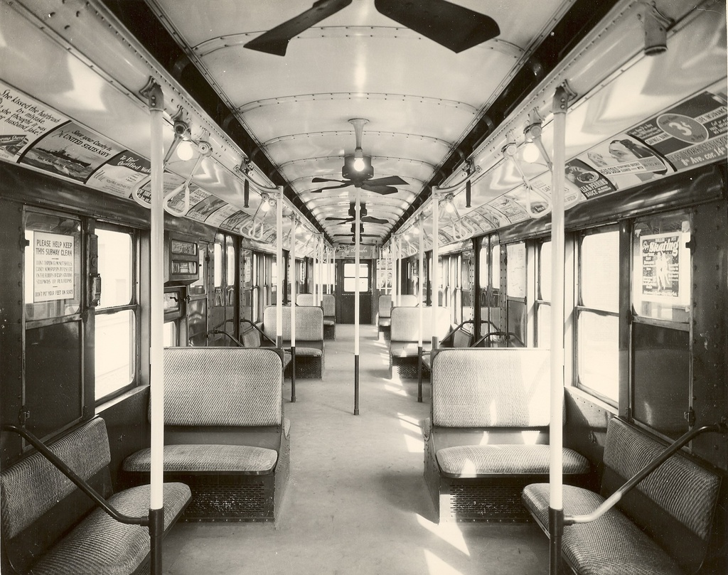 (347k, 1024x809)<br><b>Country:</b> United States<br><b>City:</b> New York<br><b>System:</b> New York City Transit<br><b>Car:</b> R-6-2 (Pullman, 1936)  1281 <br><b>Collection of:</b> Ed Watson/Arthur Lonto Collection<br><b>Date:</b> 1940<br><b>Viewed (this week/total):</b> 0 / 784