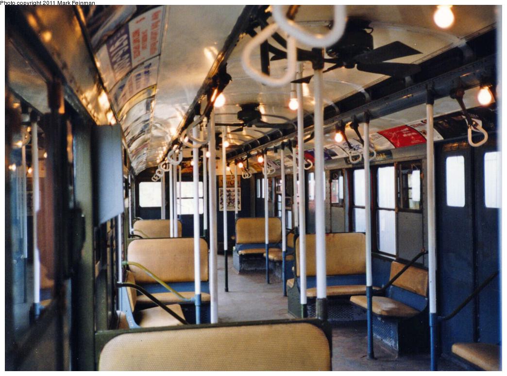 (390k, 1044x774)<br><b>Country:</b> United States<br><b>City:</b> East Haven/Branford, Ct.<br><b>System:</b> Shore Line Trolley Museum <br><b>Car:</b> R-9 (American Car & Foundry, 1940)  1689 <br><b>Photo by:</b> Mark S. Feinman<br><b>Date:</b> 10/8/1994<br><b>Viewed (this week/total):</b> 1 / 596