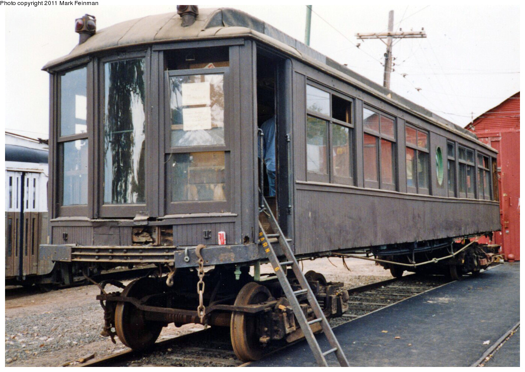 (361k, 1044x741)<br><b>Country:</b> United States<br><b>City:</b> East Haven/Branford, Ct.<br><b>System:</b> Shore Line Trolley Museum <br><b>Car:</b> Hi-V 3344 <i>Mineola</i> <br><b>Photo by:</b> Mark S. Feinman<br><b>Date:</b> 10/8/1994<br><b>Viewed (this week/total):</b> 0 / 808
