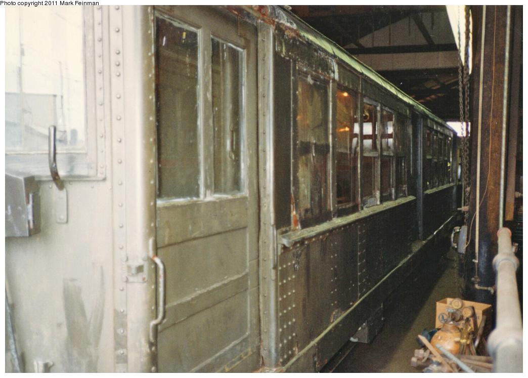 (322k, 1044x747)<br><b>Country:</b> United States<br><b>City:</b> East Haven/Branford, Ct.<br><b>System:</b> Shore Line Trolley Museum <br><b>Car:</b> Hi-V 3662 <br><b>Photo by:</b> Mark S. Feinman<br><b>Date:</b> 10/8/1994<br><b>Viewed (this week/total):</b> 2 / 487