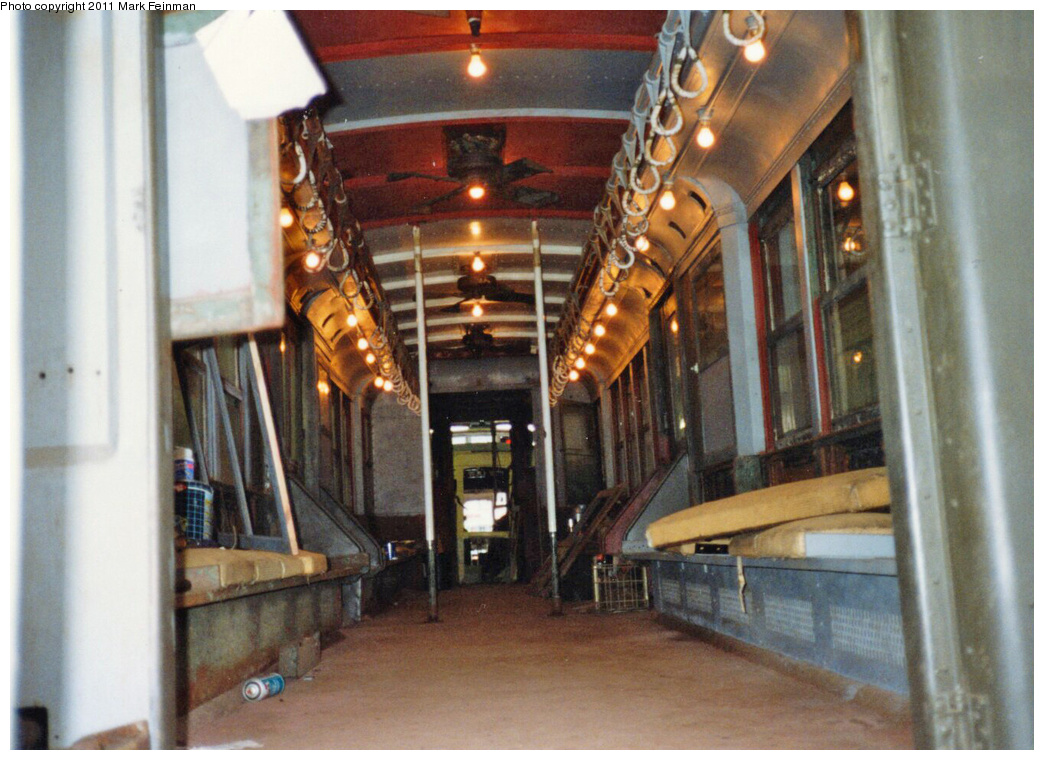 (368k, 1044x760)<br><b>Country:</b> United States<br><b>City:</b> East Haven/Branford, Ct.<br><b>System:</b> Shore Line Trolley Museum <br><b>Car:</b> Hi-V 3662 <br><b>Photo by:</b> Mark S. Feinman<br><b>Date:</b> 10/8/1994<br><b>Viewed (this week/total):</b> 0 / 554