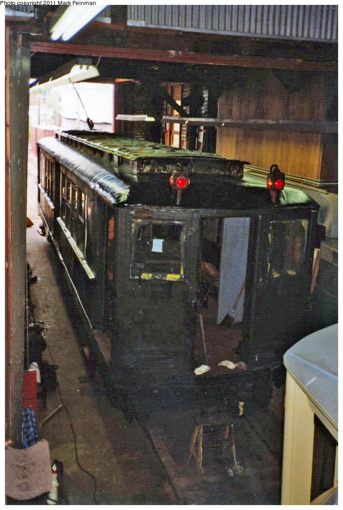 (374k, 701x1043)<br><b>Country:</b> United States<br><b>City:</b> East Haven/Branford, Ct.<br><b>System:</b> Shore Line Trolley Museum <br><b>Car:</b> Hi-V 3662 <br><b>Photo by:</b> Mark S. Feinman<br><b>Date:</b> 10/8/1994<br><b>Viewed (this week/total):</b> 0 / 465