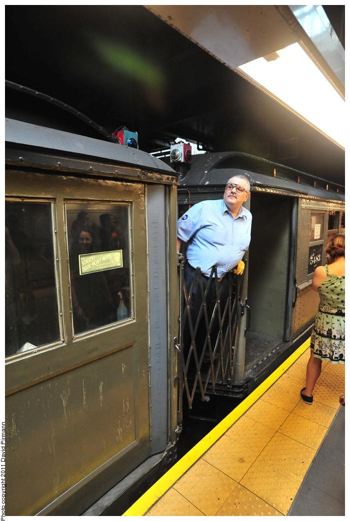 (326k, 701x1044)<br><b>Country:</b> United States<br><b>City:</b> New York<br><b>System:</b> New York City Transit<br><b>Line:</b> IRT West Side Line<br><b>Location:</b> 96th Street <br><b>Route:</b> Fan Trip<br><b>Car:</b> Low-V (Museum Train) 5483 <br><b>Photo by:</b> David Pirmann<br><b>Date:</b> 9/24/2011<br><b>Notes:</b> HBO Boardwalk Empire promotional service.<br><b>Viewed (this week/total):</b> 2 / 1169