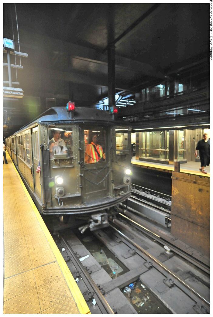 (280k, 701x1044)<br><b>Country:</b> United States<br><b>City:</b> New York<br><b>System:</b> New York City Transit<br><b>Line:</b> IRT West Side Line<br><b>Location:</b> 96th Street <br><b>Route:</b> Fan Trip<br><b>Car:</b> Low-V (Museum Train) 5292 <br><b>Photo by:</b> David Pirmann<br><b>Date:</b> 9/24/2011<br><b>Notes:</b> HBO Boardwalk Empire promotional service.<br><b>Viewed (this week/total):</b> 1 / 1040