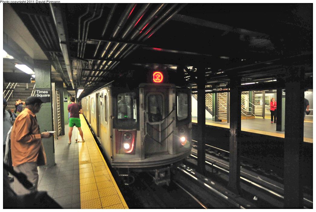 (254k, 1044x701)<br><b>Country:</b> United States<br><b>City:</b> New York<br><b>System:</b> New York City Transit<br><b>Line:</b> IRT West Side Line<br><b>Location:</b> Times Square/42nd Street <br><b>Route:</b> 2<br><b>Car:</b> R-142 (Primary Order, Bombardier, 1999-2002)  6475 <br><b>Photo by:</b> David Pirmann<br><b>Date:</b> 9/24/2011<br><b>Viewed (this week/total):</b> 0 / 1176
