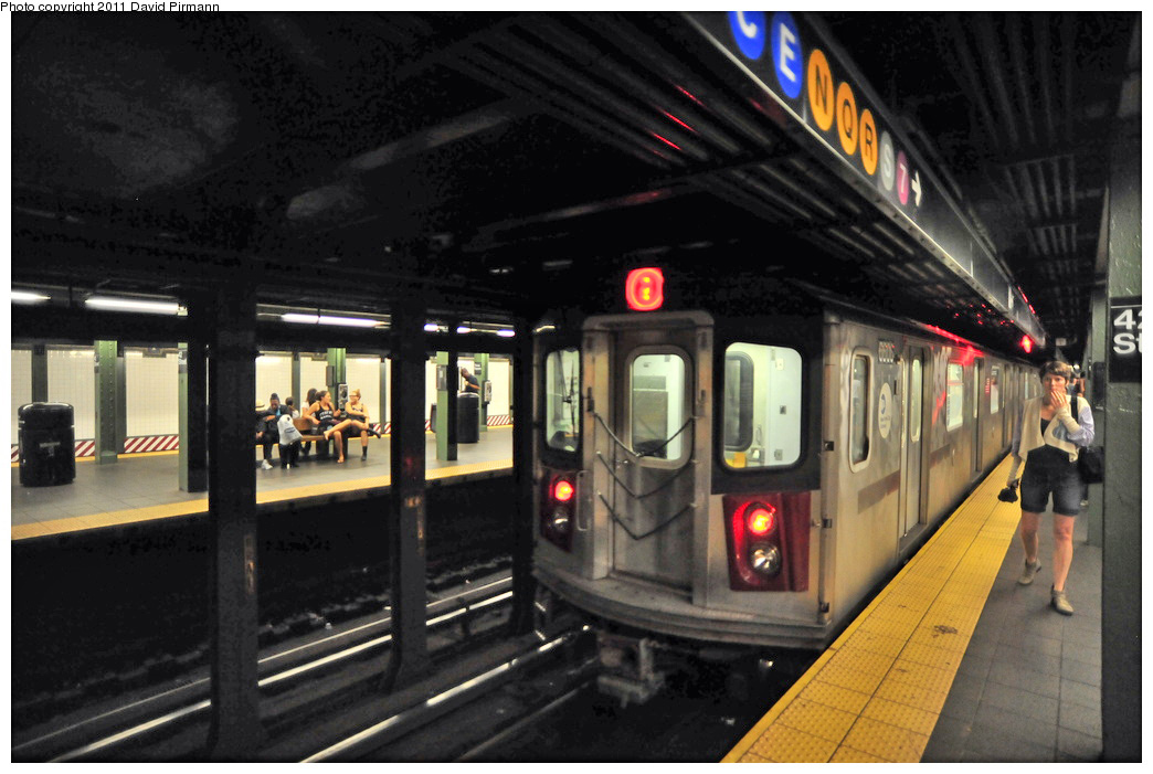(248k, 1044x701)<br><b>Country:</b> United States<br><b>City:</b> New York<br><b>System:</b> New York City Transit<br><b>Line:</b> IRT West Side Line<br><b>Location:</b> Times Square/42nd Street <br><b>Route:</b> 2<br><b>Car:</b> R-142 (Primary Order, Bombardier, 1999-2002)  6606 <br><b>Photo by:</b> David Pirmann<br><b>Date:</b> 9/24/2011<br><b>Viewed (this week/total):</b> 1 / 1352