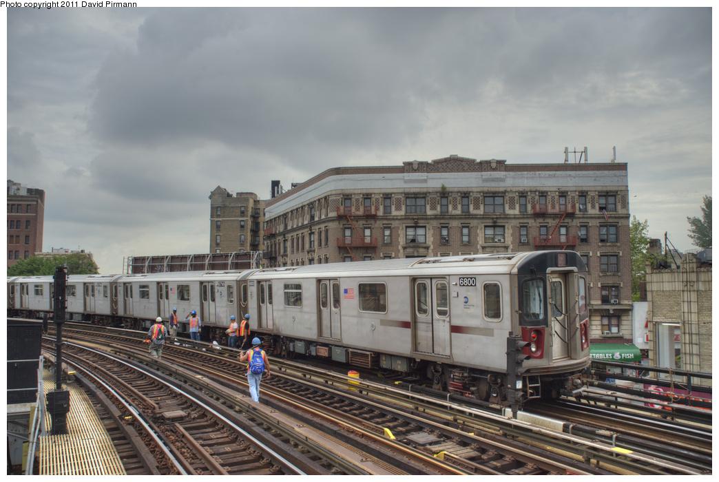 (341k, 1044x700)<br><b>Country:</b> United States<br><b>City:</b> New York<br><b>System:</b> New York City Transit<br><b>Line:</b> IRT White Plains Road Line<br><b>Location:</b> Simpson Street <br><b>Route:</b> 2<br><b>Car:</b> R-142 (Primary Order, Bombardier, 1999-2002)  6800 <br><b>Photo by:</b> David Pirmann<br><b>Date:</b> 9/24/2011<br><b>Viewed (this week/total):</b> 0 / 1111