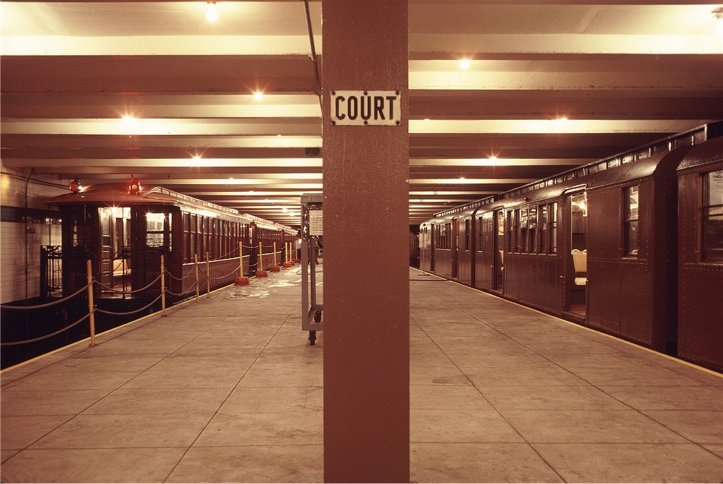 (183k, 1024x686)<br><b>Country:</b> United States<br><b>City:</b> New York<br><b>System:</b> New York City Transit<br><b>Location:</b> New York Transit Museum<br><b>Car:</b> BMT Elevated Gate Car 1407 <br><b>Photo by:</b> Doug Grotjahn<br><b>Collection of:</b> Joe Testagrose<br><b>Date:</b> 9/14/1979<br><b>Viewed (this week/total):</b> 0 / 1265