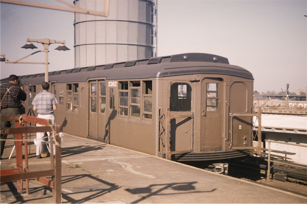 (169k, 1024x682)<br><b>Country:</b> United States<br><b>City:</b> New York<br><b>System:</b> New York City Transit<br><b>Location:</b> Coney Island/Stillwell Avenue<br><b>Route:</b> Fan Trip<br><b>Car:</b> BMT A/B-Type Standard 2392 <br><b>Collection of:</b> Joe Testagrose<br><b>Date:</b> 10/16/1965<br><b>Viewed (this week/total):</b> 3 / 895