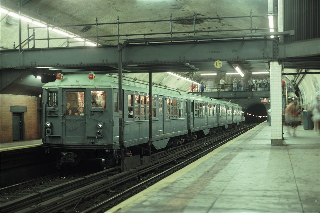 (183k, 1024x682)<br><b>Country:</b> United States<br><b>City:</b> New York<br><b>System:</b> New York City Transit<br><b>Line:</b> IRT West Side Line<br><b>Location:</b> 181st Street <br><b>Route:</b> Fan Trip<br><b>Car:</b> Low-V (Museum Train) 5443 <br><b>Photo by:</b> Eric Oszustowicz<br><b>Collection of:</b> Joe Testagrose<br><b>Date:</b> 9/8/1996<br><b>Viewed (this week/total):</b> 1 / 1634