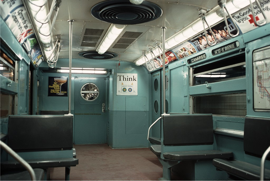(187k, 1024x687)<br><b>Country:</b> United States<br><b>City:</b> New York<br><b>System:</b> New York City Transit<br><b>Location:</b> New York Transit Museum<br><b>Car:</b> R-11 (Budd, 1949) 8013 <br><b>Photo by:</b> Doug Grotjahn<br><b>Collection of:</b> Joe Testagrose<br><b>Date:</b> 10/10/1976<br><b>Viewed (this week/total):</b> 0 / 1717