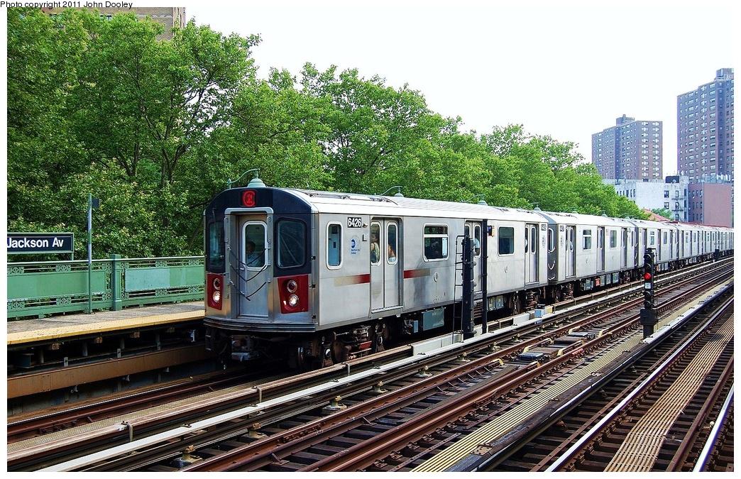 (462k, 1044x675)<br><b>Country:</b> United States<br><b>City:</b> New York<br><b>System:</b> New York City Transit<br><b>Line:</b> IRT White Plains Road Line<br><b>Location:</b> Jackson Avenue <br><b>Route:</b> 2<br><b>Car:</b> R-142 (Primary Order, Bombardier, 1999-2002)  6426 <br><b>Photo by:</b> John Dooley<br><b>Date:</b> 6/28/2011<br><b>Viewed (this week/total):</b> 3 / 983