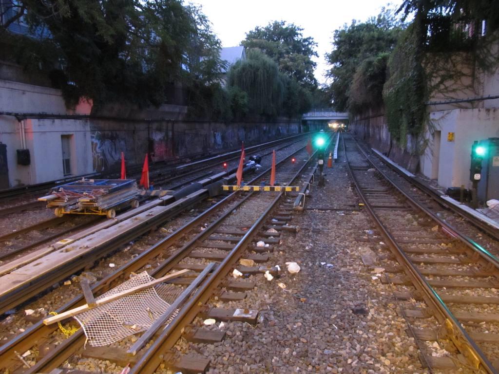 (144k, 1024x768)<br><b>Country:</b> United States<br><b>City:</b> New York<br><b>System:</b> New York City Transit<br><b>Line:</b> BMT Brighton Line<br><b>Location:</b> Newkirk Plaza (fmrly Newkirk Ave.) <br><b>Photo by:</b> Robbie Rosenfeld<br><b>Date:</b> 9/13/2011<br><b>Notes:</b> Station/express track renovation<br><b>Viewed (this week/total):</b> 0 / 1794