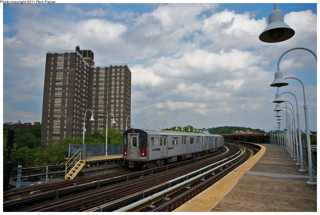 (261k, 1044x702)<br><b>Country:</b> United States<br><b>City:</b> New York<br><b>System:</b> New York City Transit<br><b>Line:</b> IRT White Plains Road Line<br><b>Location:</b> West Farms Sq./East Tremont Ave./177th St. <br><b>Route:</b> 2<br><b>Car:</b> R-142 (Primary Order, Bombardier, 1999-2002)  6556 <br><b>Photo by:</b> Richard Panse<br><b>Date:</b> 10/1/2011<br><b>Viewed (this week/total):</b> 1 / 954