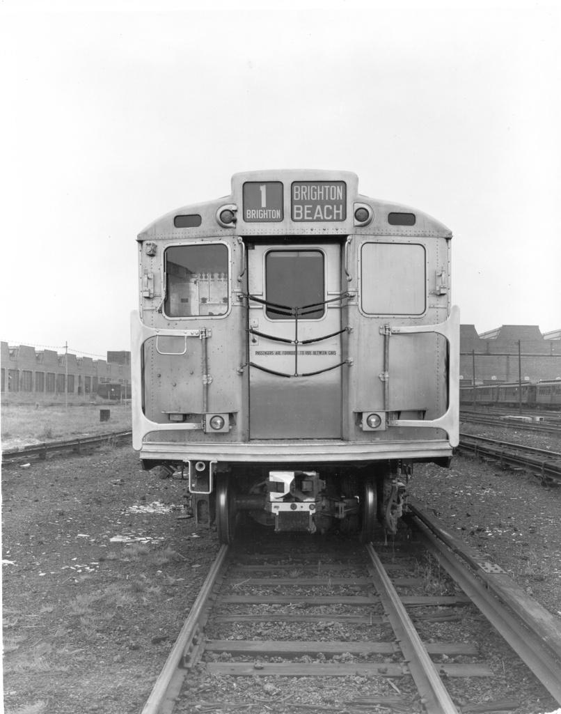 (231k, 806x1025)<br><b>Country:</b> United States<br><b>City:</b> New York<br><b>System:</b> New York City Transit<br><b>Location:</b> Coney Island Yard<br><b>Car:</b> R-11 (Budd, 1949) 8019 <br><b>Photo by:</b> Ed Watson/Arthur Lonto Collection<br><b>Collection of:</b> Frank Pfuhler<br><b>Date:</b> 1949<br><b>Viewed (this week/total):</b> 0 / 1138