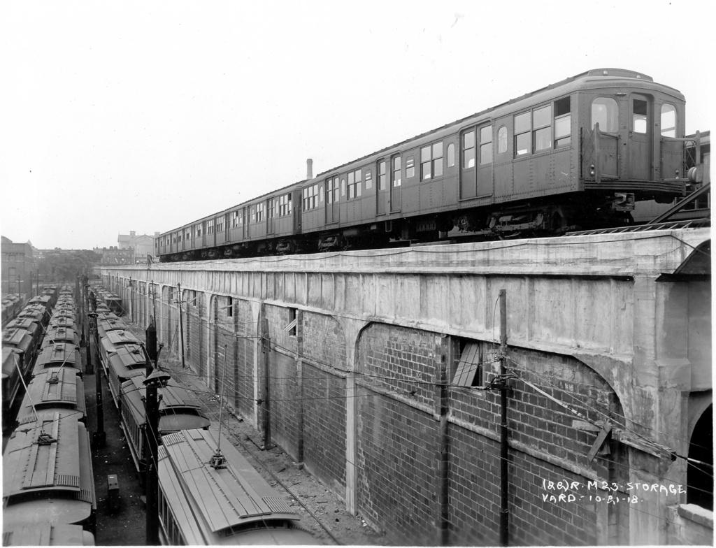 (262k, 1024x784)<br><b>Country:</b> United States<br><b>City:</b> New York<br><b>System:</b> New York City Transit<br><b>Location:</b> East New York Yard/Shops<br><b>Car:</b> BMT A/B-Type Standard 2346 <br><b>Photo by:</b> Ed Watson/Arthur Lonto Collection<br><b>Collection of:</b> Frank Pfuhler<br><b>Date:</b> 10/21/1918<br><b>Viewed (this week/total):</b> 2 / 1554