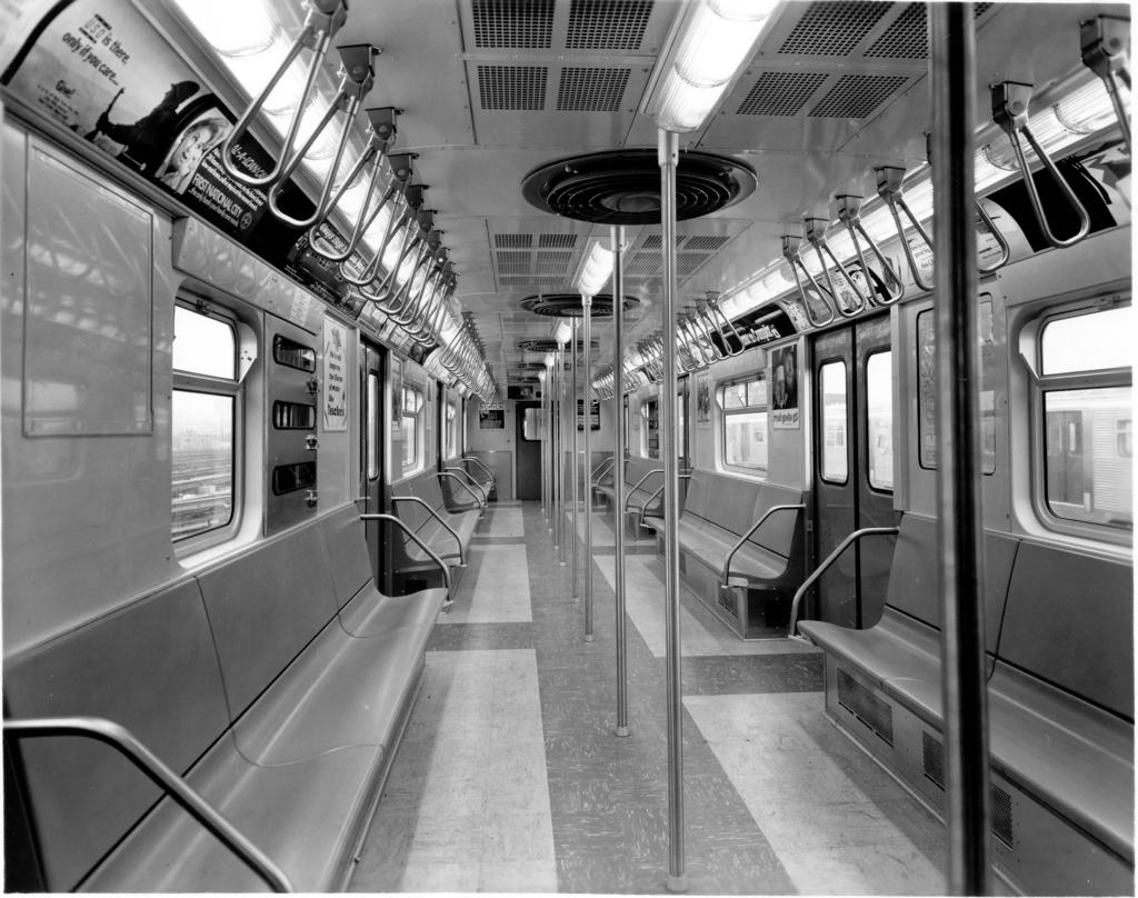 (272k, 1024x808)<br><b>Country:</b> United States<br><b>City:</b> New York<br><b>System:</b> New York City Transit<br><b>Car:</b> R-32 (Budd, 1964)  3497 <br><b>Photo by:</b> Ed Watson/Arthur Lonto Collection<br><b>Collection of:</b> Frank Pfuhler<br><b>Date:</b> 1965<br><b>Viewed (this week/total):</b> 0 / 966