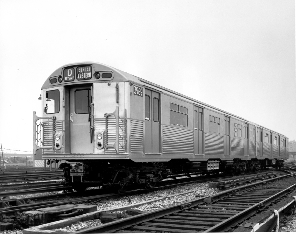 (225k, 1024x809)<br><b>Country:</b> United States<br><b>City:</b> New York<br><b>System:</b> New York City Transit<br><b>Location:</b> Coney Island Yard<br><b>Car:</b> R-32 (Budd, 1964)  3669 <br><b>Photo by:</b> Ed Watson/Arthur Lonto Collection<br><b>Collection of:</b> Frank Pfuhler<br><b>Date:</b> 1969<br><b>Viewed (this week/total):</b> 0 / 949