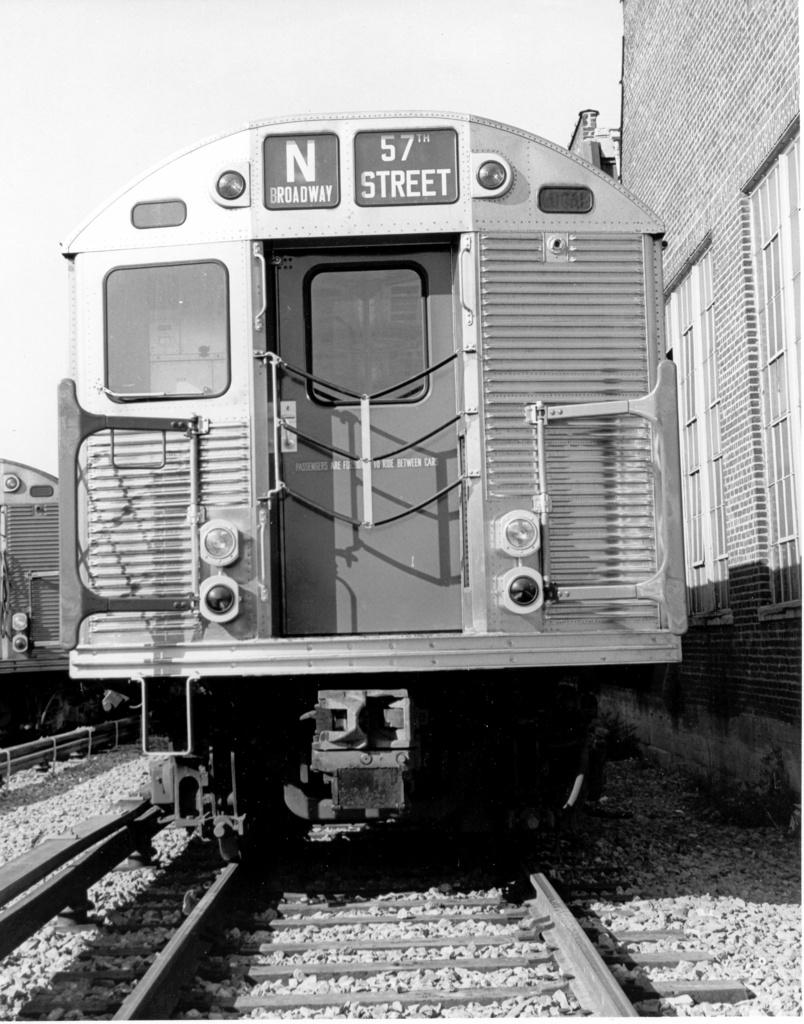 (276k, 804x1024)<br><b>Country:</b> United States<br><b>City:</b> New York<br><b>System:</b> New York City Transit<br><b>Location:</b> Coney Island Yard<br><b>Car:</b> R-32 (Budd, 1964)  3851 <br><b>Photo by:</b> Ed Watson/Arthur Lonto Collection<br><b>Collection of:</b> Frank Pfuhler<br><b>Date:</b> 9/1965<br><b>Viewed (this week/total):</b> 1 / 803