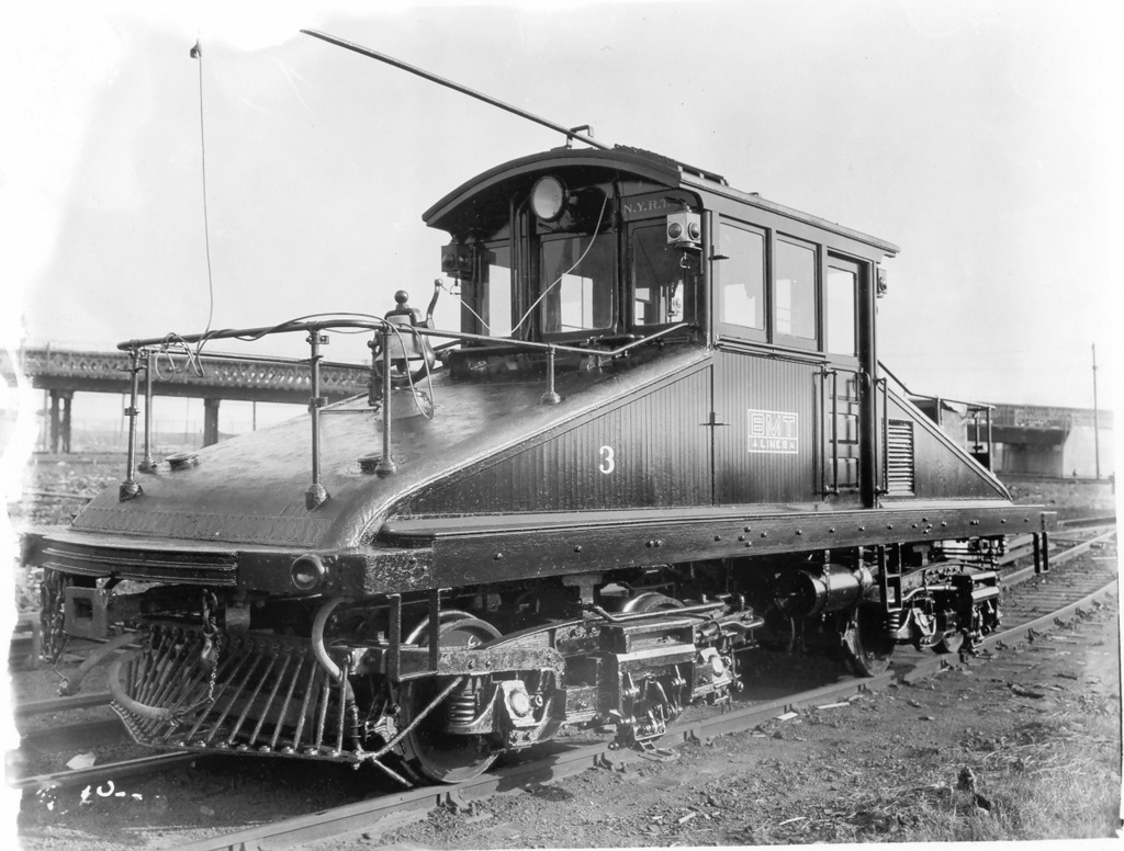 (260k, 1024x776)<br><b>Country:</b> United States<br><b>City:</b> New York<br><b>System:</b> New York City Transit<br><b>Location:</b> Coney Island Yard<br><b>Car:</b> SBK Steeplecab 3 <br><b>Photo by:</b> Ed Watson/Arthur Lonto Collection<br><b>Collection of:</b> Frank Pfuhler<br><b>Date:</b> 6/12/1930<br><b>Viewed (this week/total):</b> 1 / 759