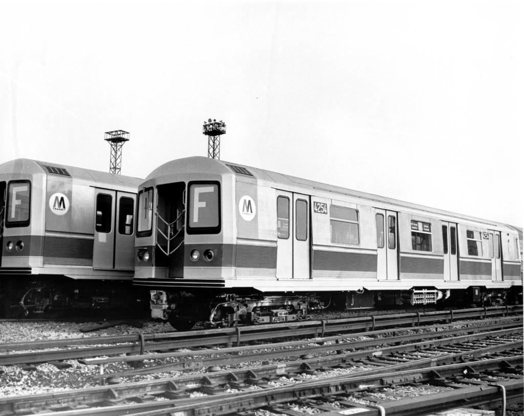 (224k, 1024x812)<br><b>Country:</b> United States<br><b>City:</b> New York<br><b>System:</b> New York City Transit<br><b>Location:</b> Coney Island Yard<br><b>Car:</b> R-40M (St. Louis, 1969)  4254 <br><b>Photo by:</b> Ed Watson/Arthur Lonto Collection<br><b>Collection of:</b> Frank Pfuhler<br><b>Date:</b> 1969<br><b>Viewed (this week/total):</b> 0 / 699