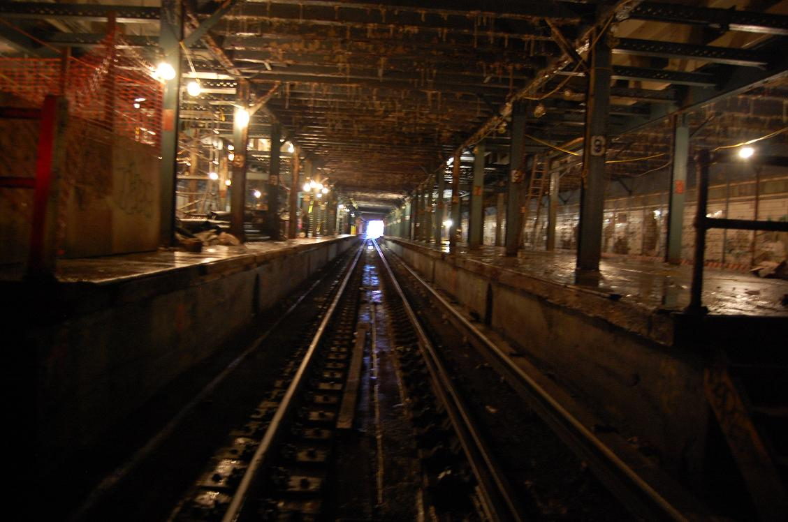(138k, 1128x748)<br><b>Country:</b> United States<br><b>City:</b> New York<br><b>System:</b> New York City Transit<br><b>Line:</b> BMT Culver Line<br><b>Location:</b> 9th Avenue (Lower Level) <br><b>Collection of:</b> John Dooley<br><b>Date:</b> 12/12/2010<br><b>Viewed (this week/total):</b> 5 / 3518