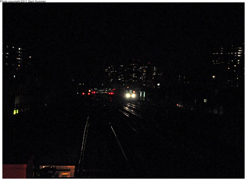 (251k, 1044x767)<br><b>Country:</b> United States<br><b>City:</b> New York<br><b>System:</b> New York City Transit<br><b>Line:</b> BMT Brighton Line<br><b>Location:</b> Brighton Beach <br><b>Route:</b> B Layup<br><b>Car:</b> R-68A (Kawasaki, 1988-1989)   <br><b>Photo by:</b> Zach Summer<br><b>Date:</b> 10/18/2011<br><b>Viewed (this week/total):</b> 10 / 1164