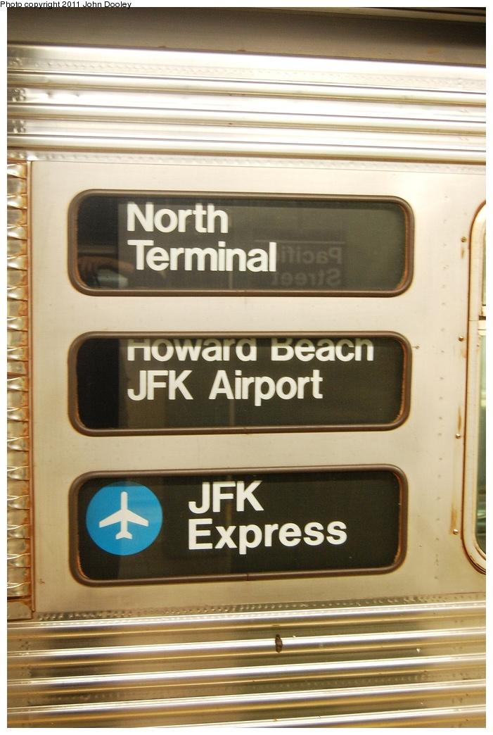 (299k, 701x1044)<br><b>Country:</b> United States<br><b>City:</b> New York<br><b>System:</b> New York City Transit<br><b>Line:</b> BMT 4th Avenue<br><b>Location:</b> Pacific Street <br><b>Route:</b> Work Service<br><b>Car:</b> R-32 (Budd, 1964)  3495 <br><b>Photo by:</b> John Dooley<br><b>Date:</b> 9/22/2011<br><b>Viewed (this week/total):</b> 1 / 1630
